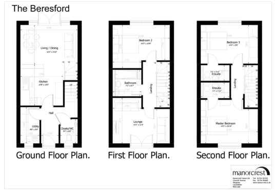 beresford floorplan houses for sale in Skegness property for sale in skegness