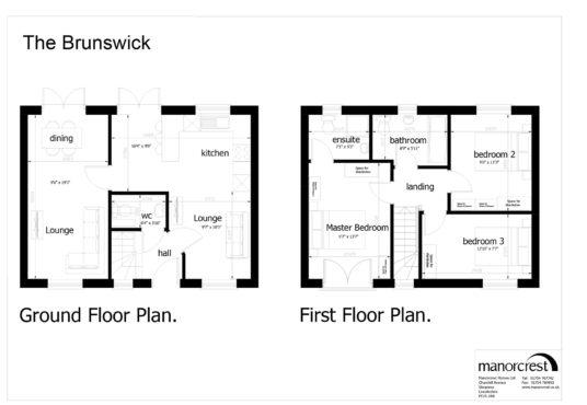 brunswick floorplan houses for sale in Skegness property for sale in skegness