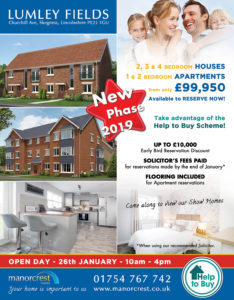 open weekend blog houses for sale in Skegness